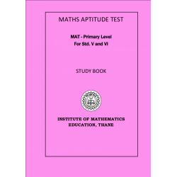 MAT - STUDY BOOK  V / VI